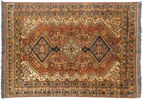 5×7 Caucasian Rust Oriental Rug 036949