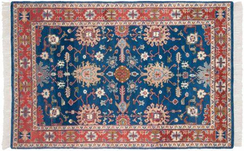 5×7 Sultanabad Blue Oriental Rug 024678