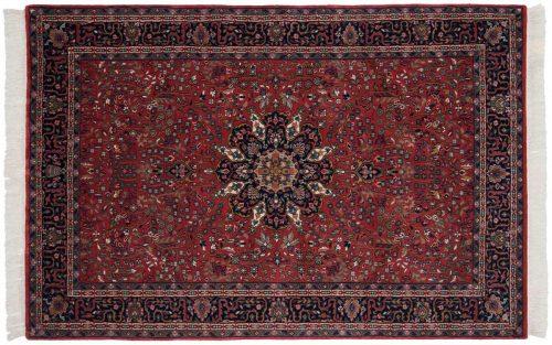 5×7 Tabriz Red Oriental Rug 031460