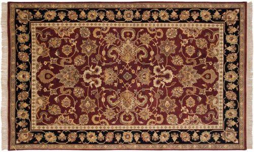 5×8 Agra Red Oriental Rug 032669