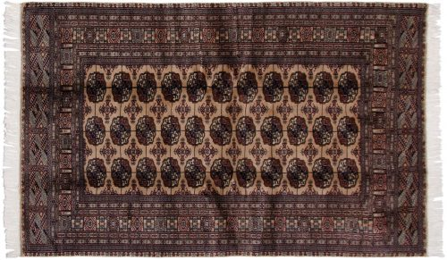 5×8 Bokhara Beige Oriental Rug 021967