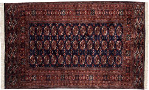 5×8 Bokhara Blue Oriental Rug 021801