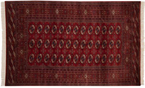 5×8 Bokhara Red Oriental Rug 022065