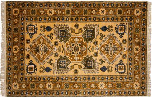 5×8 Caucasian Gold Oriental Rug 027297