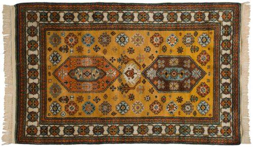 5×8 Caucasian Gold Oriental Rug 028261