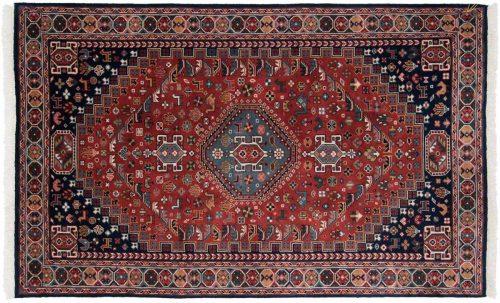 5×8 Ghashghai Rust Oriental Rug 046393