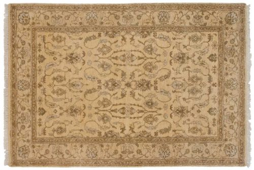 5×8 Kashan Gold Oriental Rug 046914