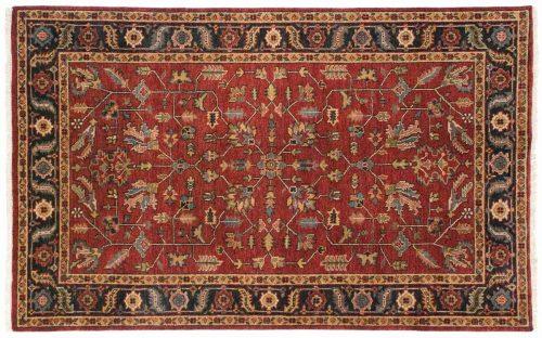 5×8 Heriz Red Oriental Rug 044161