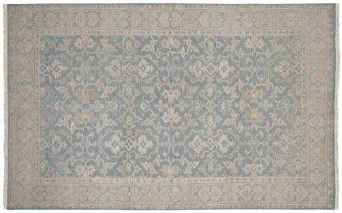 5×8 Kashan Grey Oriental Rug 047936
