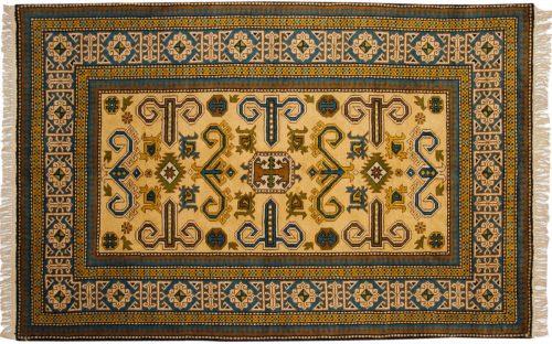5×8 Kazak Gold Oriental Rug 027281