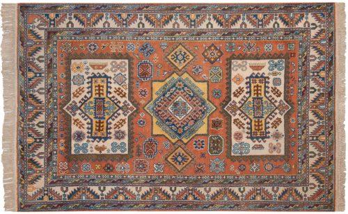 5×8 Kazak Rust Oriental Rug 027478