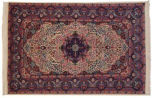 5×8 Kerman Ivory Oriental Rug 019769