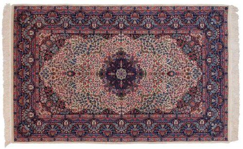 5×8 Kerman Ivory Oriental Rug 019785