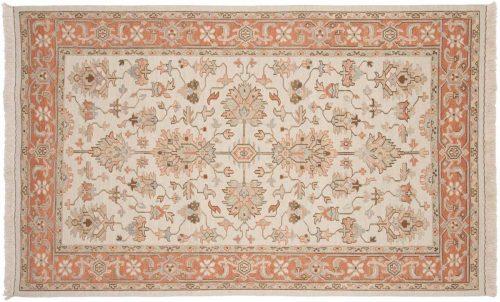 5×8 Mahal Ivory Oriental Rug 042065