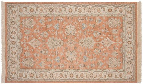 5×8 Mahal Rust Oriental Rug 041205