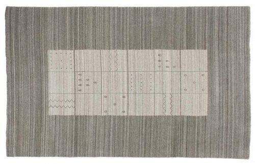 5×8 Gabbeh Silver Oriental Rug 046958