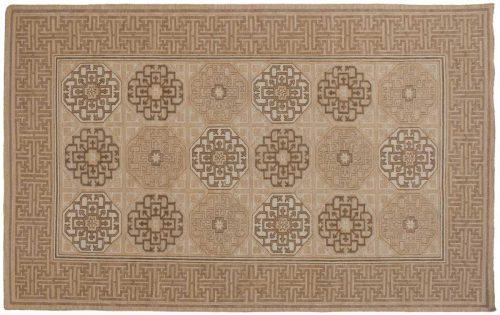 5×8 Soumak Beige Oriental Rug 046075