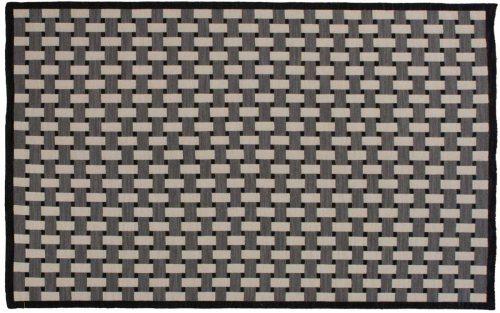 5×8 Soumak Black Oriental Rug 045039