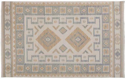 5×8 Soumak Ivory Oriental Rug 045846