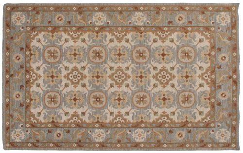 5×8 Soumak Ivory Oriental Rug 046583