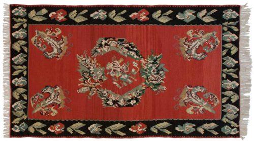 5×9 Bessarabian Red Oriental Rug 034620