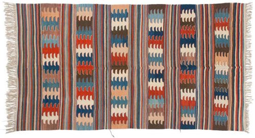 5×9 Kilim Multi Color Oriental Rug 034623