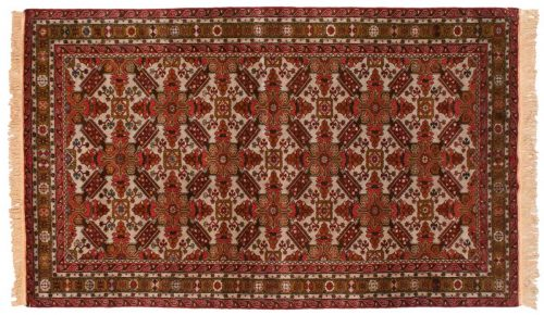 5×9 Mikrah Grey Oriental Rug 028194
