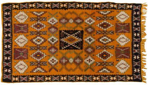 5×9 Moroccan Orange Oriental Rug 013575
