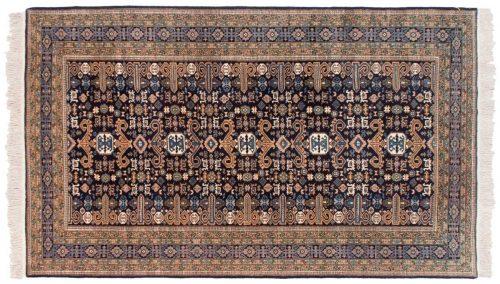 5×9 Persian Ardebil Blue Oriental Rug 035412