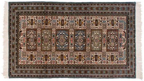5×9 Persian Ardebil Ivory Oriental Rug 034899