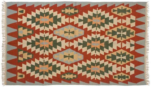 6×10 Kilim Multi Color Oriental Rug 013871