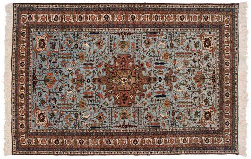 6×10 Persian Ardebil Blue Oriental Rug 035365