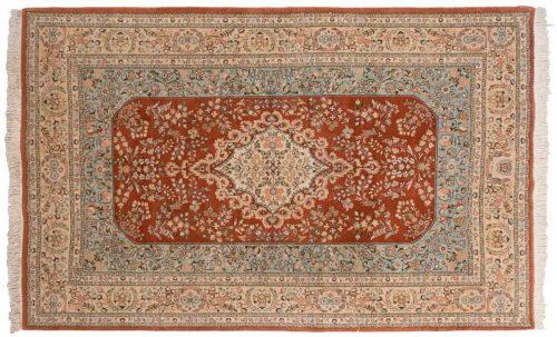6×10 Persian Tabriz Rust Oriental Rug 035022