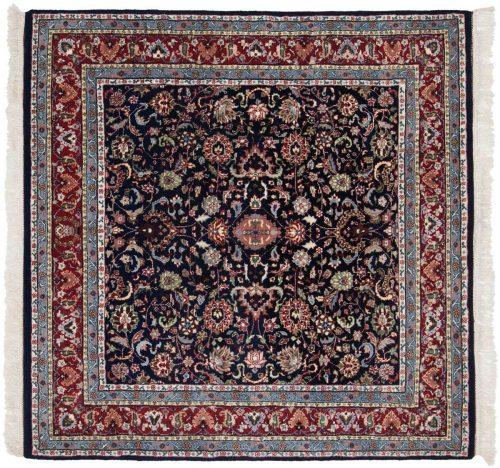 6×6 Kashan Blue Oriental Square Rug 034100
