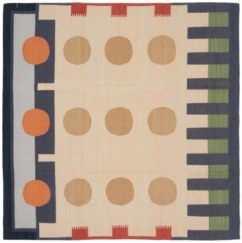 6×6 Nicholls Multi Color Oriental Square Rug 024722