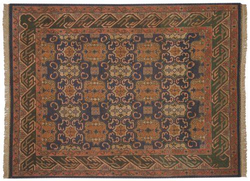 6×8 Agra Blue Oriental Rug 012880