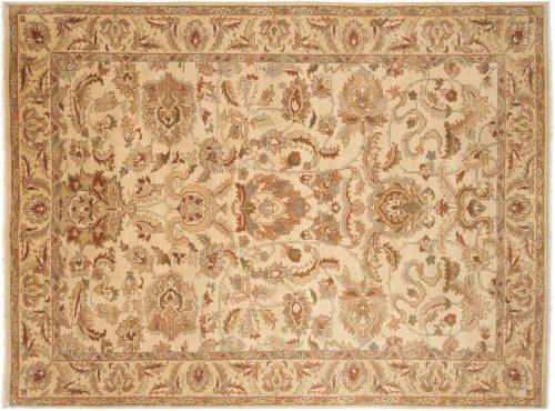 6×8 Agra Ivory Oriental Rug 017692