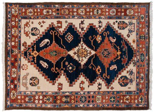 6×8 Azeri Blue Oriental Rug 013812