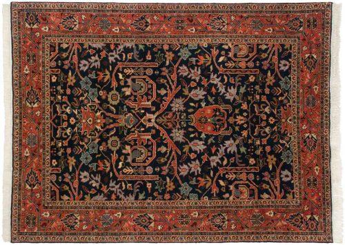 6×8 Bijar Blue Oriental Rug 024832