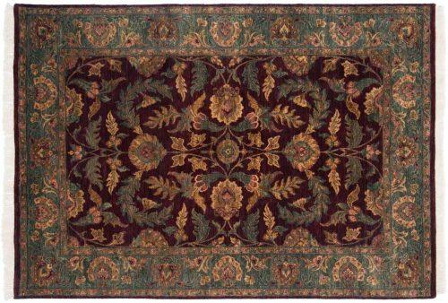 6×8 Agra Brown Oriental Rug 014228