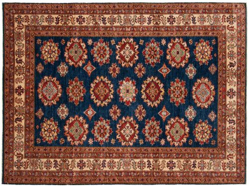 6×8 Kazak Blue Oriental Rug 046470