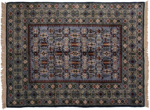 6×8 Kazak Blue Oriental Rug 048512
