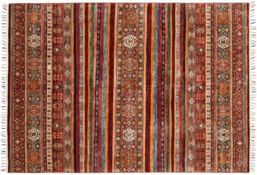 6×8 Kazak Multi Color Oriental Rug 048460