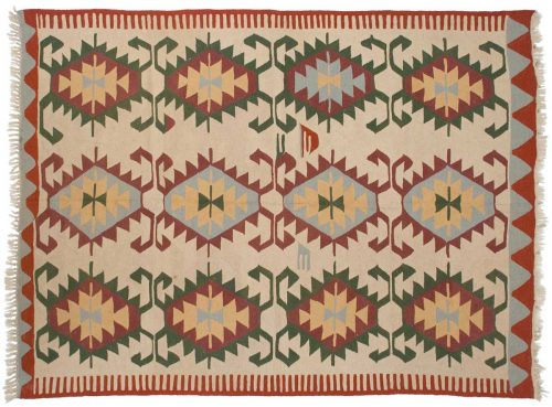 6×8 Kilim Beige Oriental Rug 013868