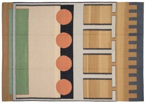 6×8 Nicholls Multi Color Oriental Rug 012827