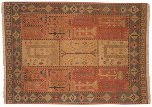 6×8 Sileh Red Oriental Rug 012531