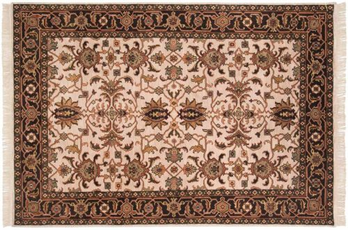 6×8 Sultanabad Ivory Oriental Rug 032678