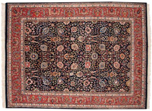 6×8 Tabriz Blue Oriental Rug 015257