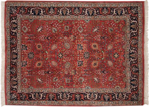 6×8 Tabriz Red Oriental Rug 015238