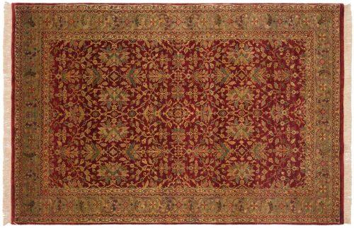 6×9 Agra Red Oriental Rug 038473